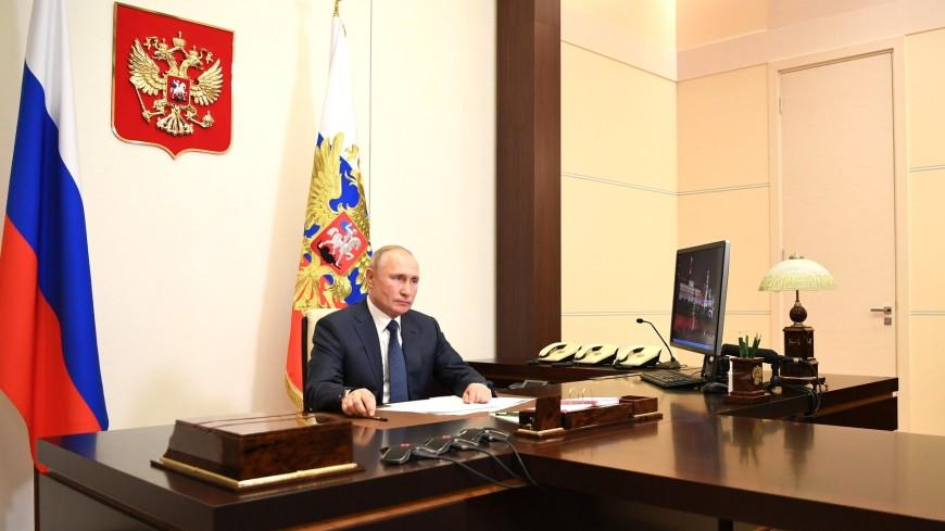 Путин выступил с заявлением о прекращении огня в Карабахе