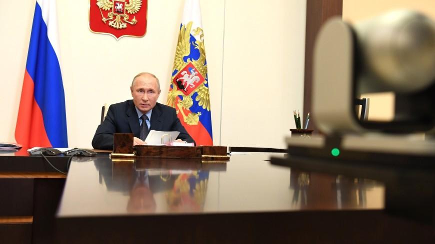 Путин: Число официально зарегистрированных наркопотребителей сократилось за 10 лет более чем на четверть