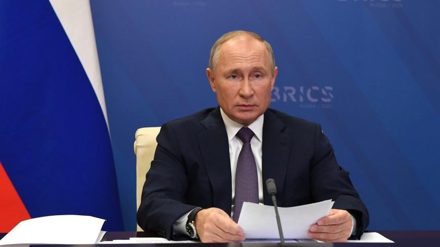 Путин на саммите БРИКС вспомнил русскую поговорку про семью