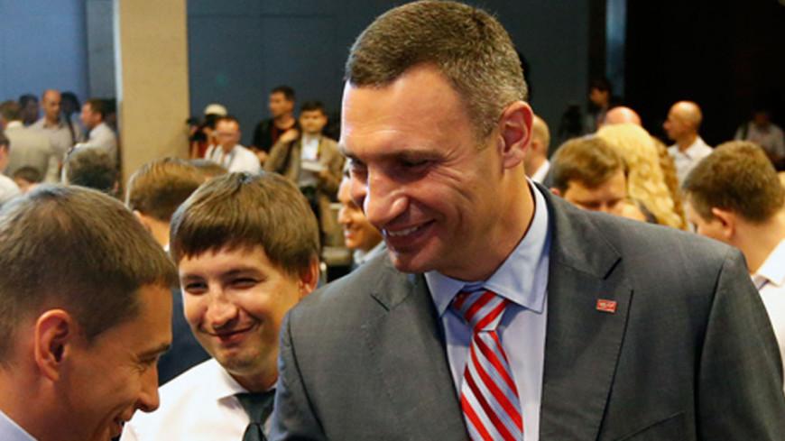 Кличко победил на выборах мэра Киева