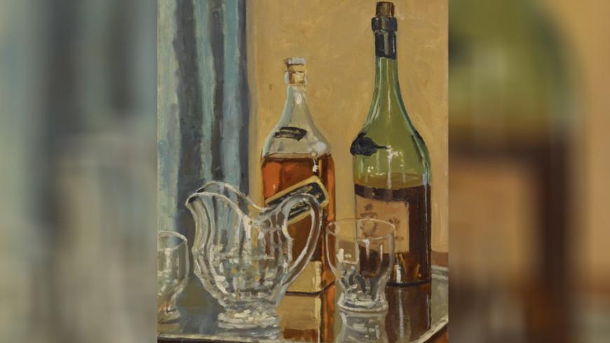 Картина Черчилля с бутылкой виски ушла с молотка за €1,1 млн