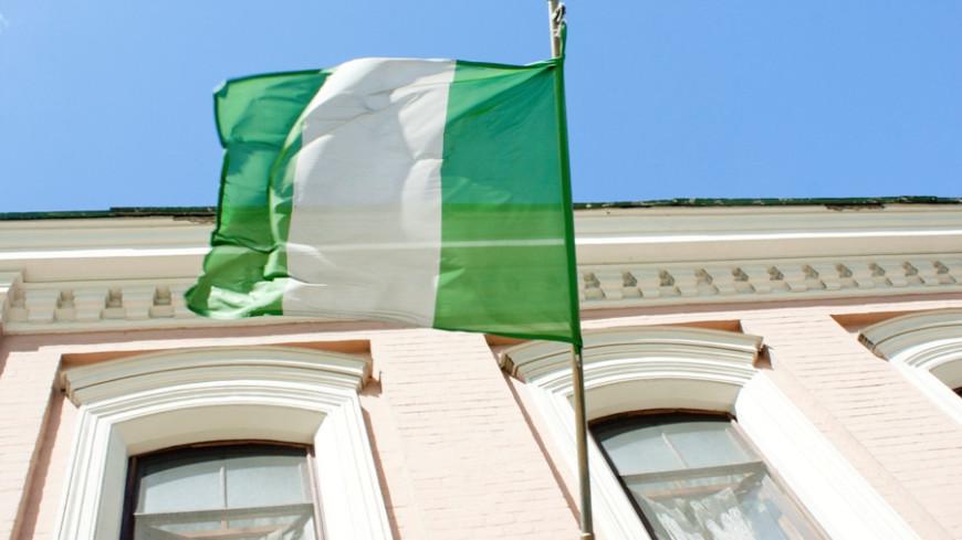 "Фото: Елена Андреева, ""«Мир24»"":http://mir24.tv/, флаг нигерии, нигерия, посольство нигерии"