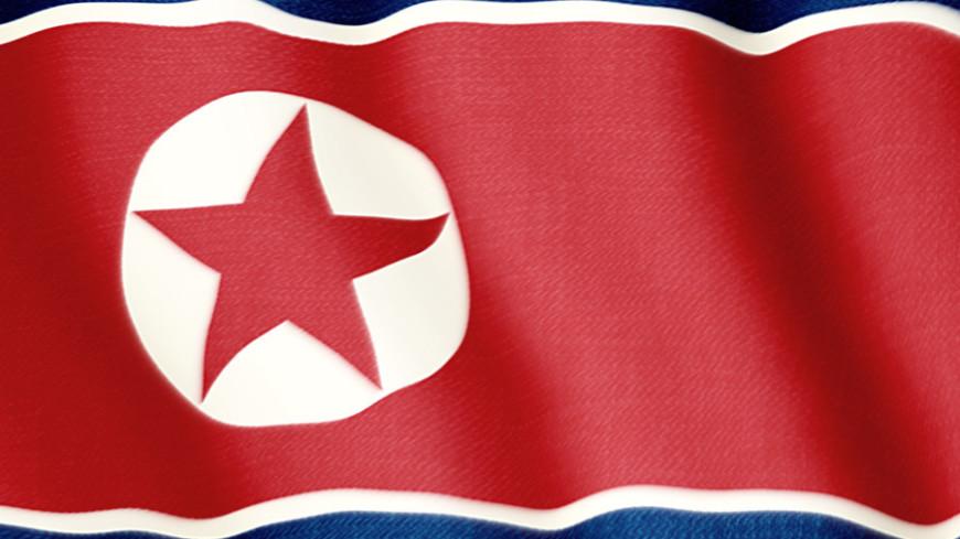 флаг Северной Кореи, северная корея