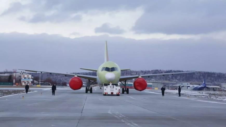 «Ростех» построил первый самолет МС-21-310 с российскими двигателями ПД-14