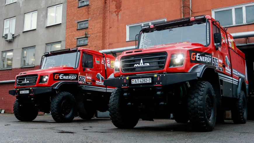 Спортдайджест: белорусские МАЗы отправились на ралли-рейд «Дакар»
