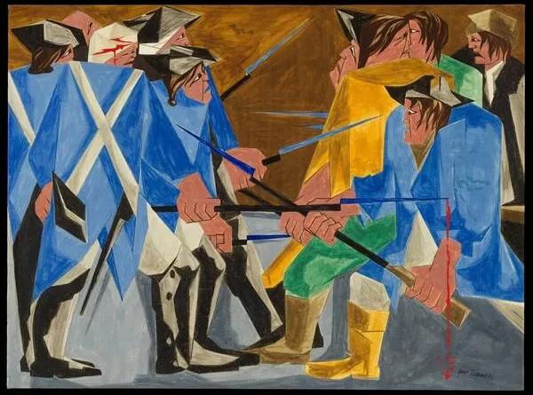 Посетительница музея нашла пропавшую картину Джейкоба Лоуренса