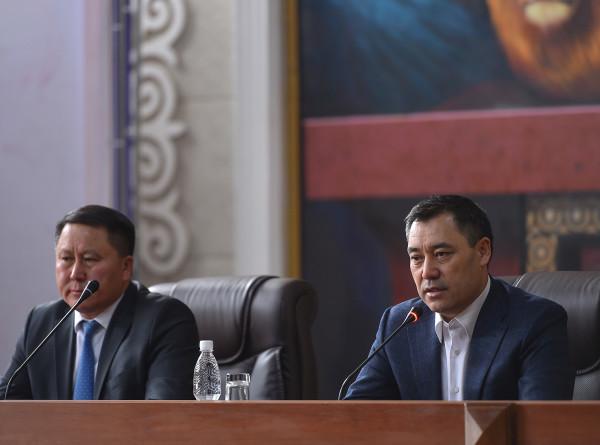 И.о. президента Кыргызстана пообещал защищать бизнес от криминала и коррупционеров