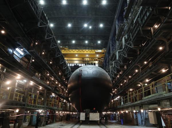 Подлодку «Волхов» передали в состав ВМФ России