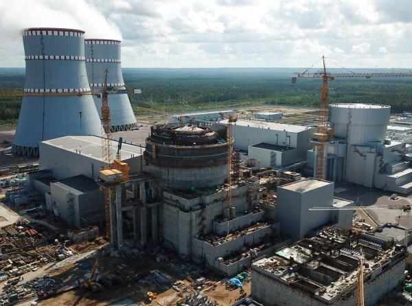 Начал работу новый блок Ленинградской АЭС-2