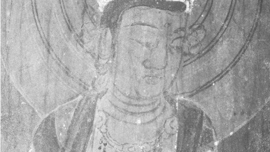 Инфракрасный свет выявил скрытые рисунки на стенах японского храма