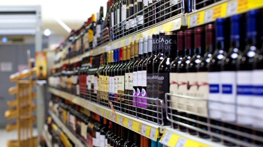 В России снизились продажи вина и водки