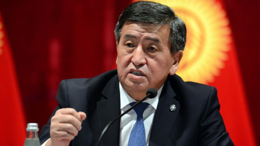 Жээнбеков: Не хочу остаться в истории Кыргызстана как президент, проливший кровь