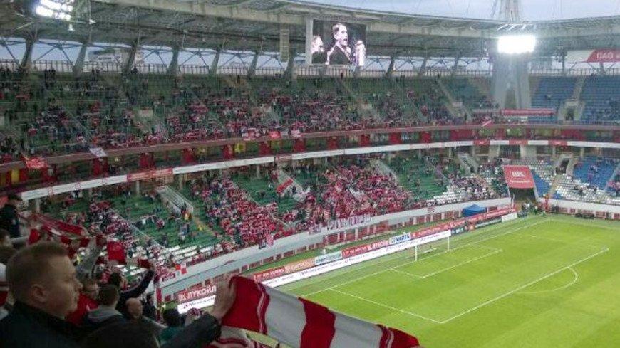 """Фото: Елена Карташова, """"«МИР 24»"""":http://mir24.tv/, болельщики, футбол, стадион"""