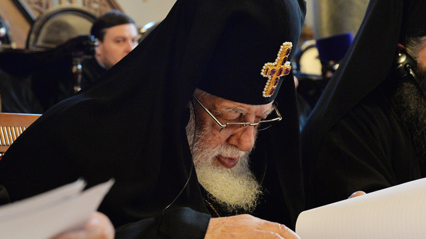 "Фото: С. Власов, ""РПЦ"":http://www.patriarchia.ru, патриарх грузии, илья ii"
