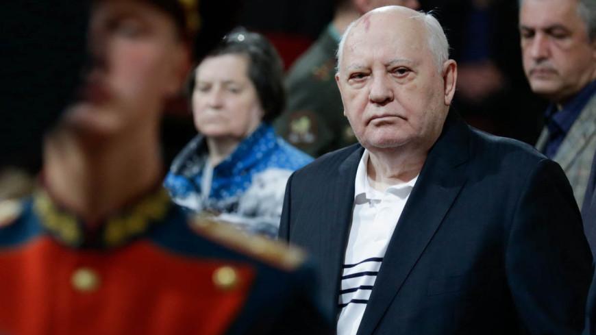 Горбачев побывал на предпоказе спектакля о себе в Театре Наций