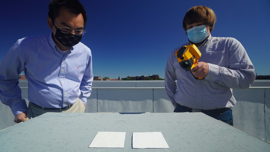 В США создали «сверхбелую» краску для защиты от солнечных лучей