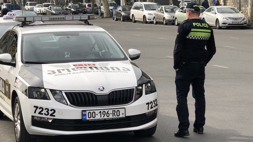 Тбилиси, Грузия, Полиция