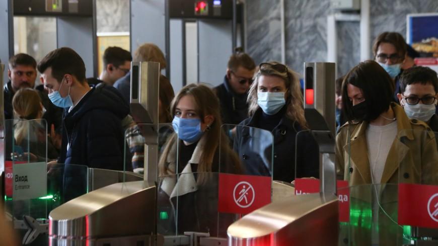 В Москве пассажиров без масок и перчаток перестанут пускать в транспорт