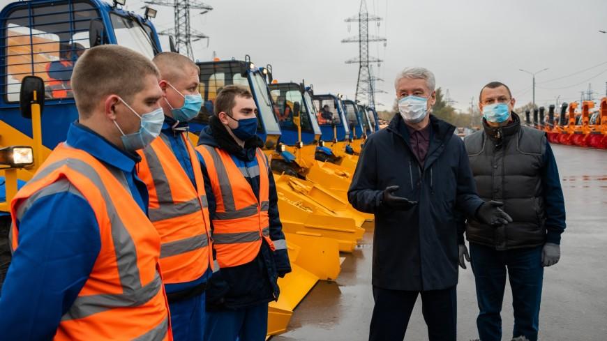 Собянин: Москва является европейским лидером по чистоте дорог