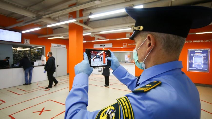 Почти 60 посетителей московских ТРЦ оштрафованы за отсутствие средств защиты