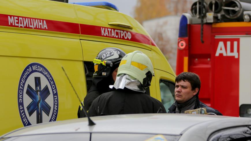 К месту взрывов под Рязанью направлен робототехнический комплекс МЧС