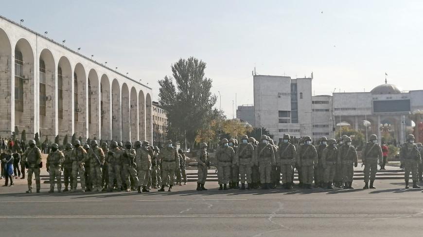 ГУВД Бишкека: Обстановка в столице полностью контролируется военными и милицией