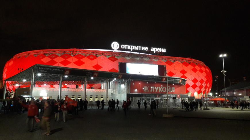 """Фото: Елена Карташова """"«Мир 24»"""":http://mir24.tv/, открытие арена, футбол, спартак, стадион, футбольное поле, футбольный фанат, футбольный мяч"""