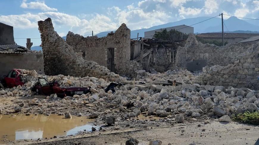 На пострадавшем от землетрясения острове Самос ввели режим ЧС на полгода