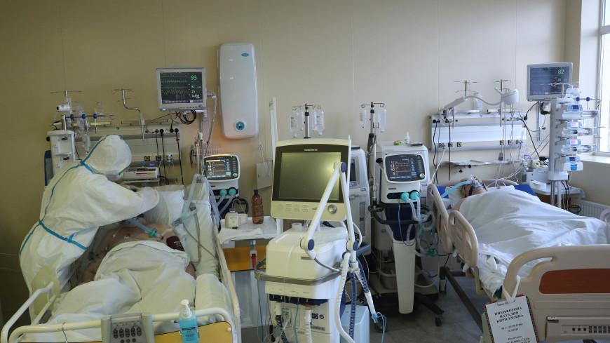Число находящихся на ИВЛ пациентов с коронавирусом в Москве выросло на 25%