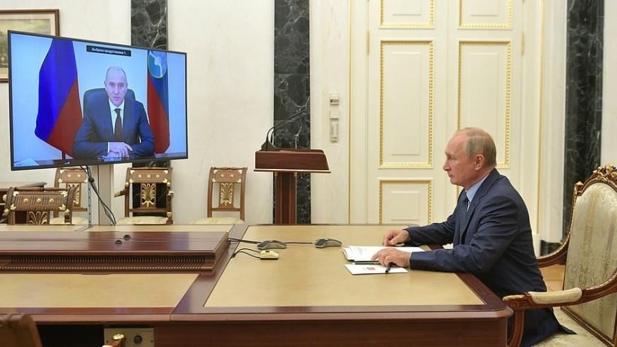 Глава КЧР рассказал Путину о мерах соцподдержки семей с детьми в регионе