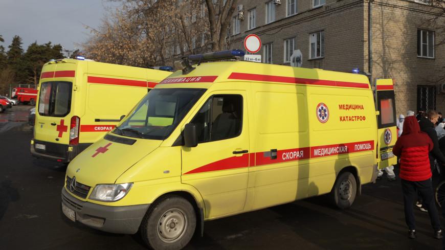 Причиной пожара в COVID-поликлинике в Челябинске стала разгерметизация кислородного баллона