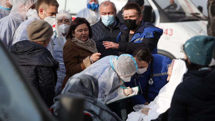 В Челябинске в реанимацию доставлены 13 пациентов из поликлиники, где произошел взрыв