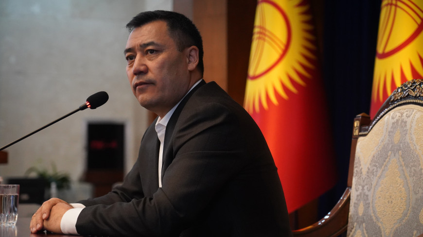 Садыр Жапаров заявил, что к нему полностью перешли обязанности президента Кыргызстана