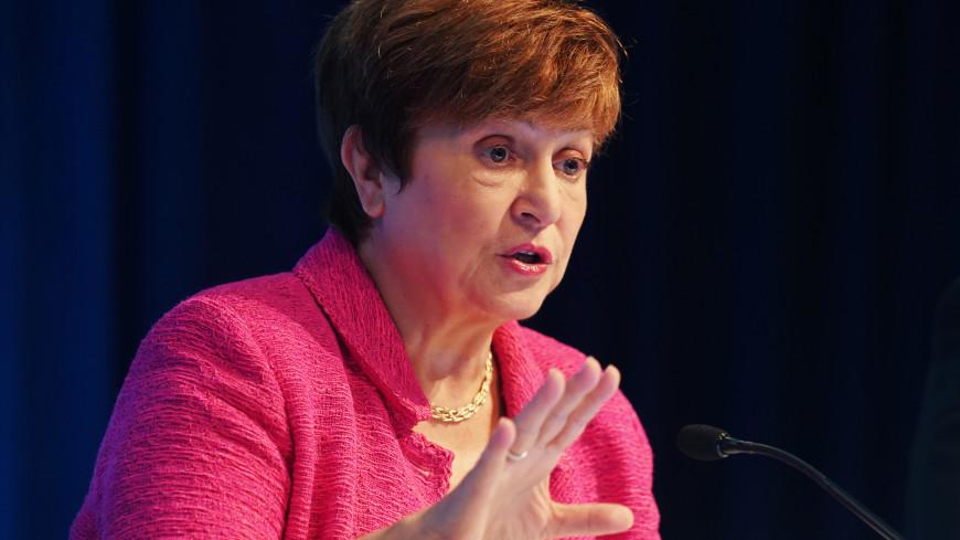 Глава МВФ Георгиева описала коронавирусный кризис строками из Достоевского
