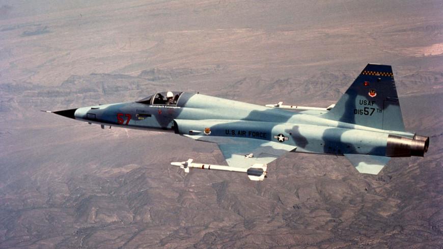 На Тайване разбился истребитель F-5E