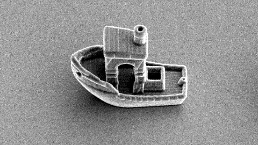 В Нидерландах напечатали самый маленький в мире корабль