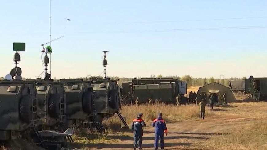 Минобороны сообщило о локализации пожара на рязанском складе боеприпасов