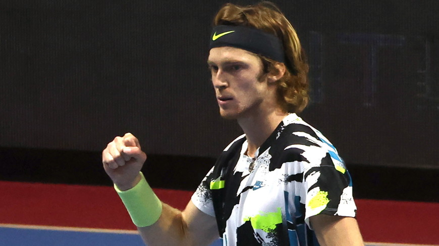Рублев обыграл Тима и вышел в полуфинал турнира АТР