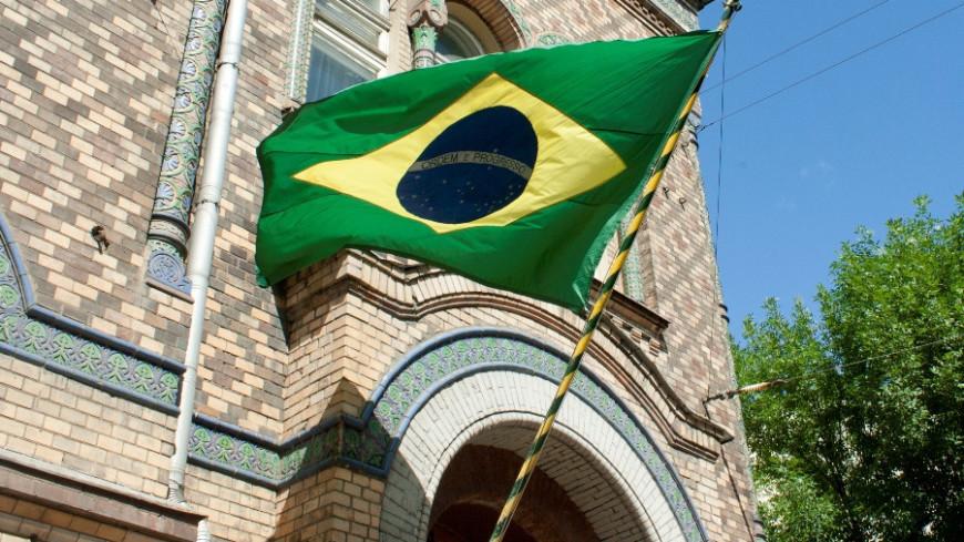 "Фото: Елена Андреева, ""«Мир24»"":http://mir24.tv/, флаг бразилии, бразилия, посольство бразилии"