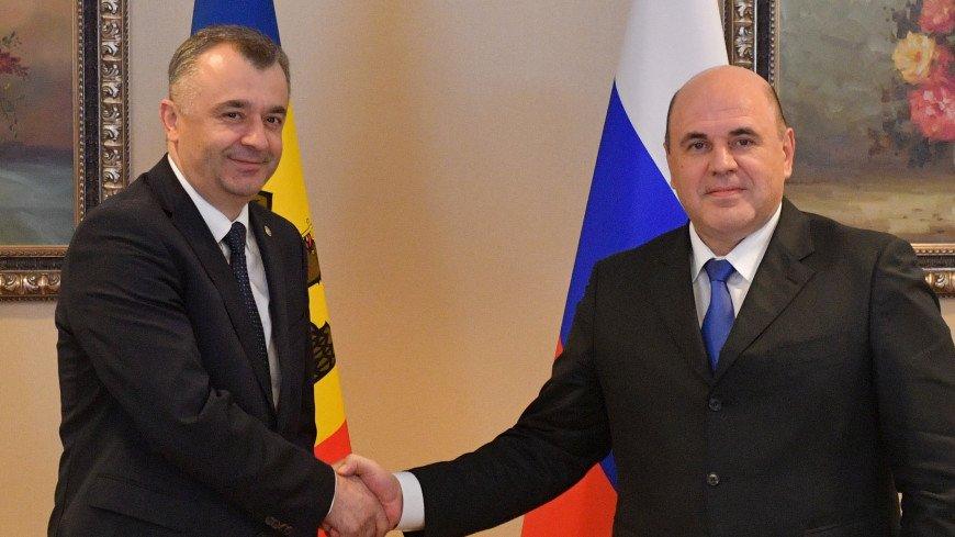Премьеры России и Молдовы обсудили расширение торгово-экономических связей