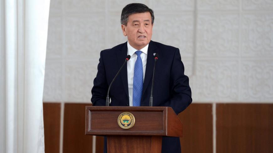 Парламент Кыргызстана рассмотрит в пятницу вопрос об отставке Жээнбекова
