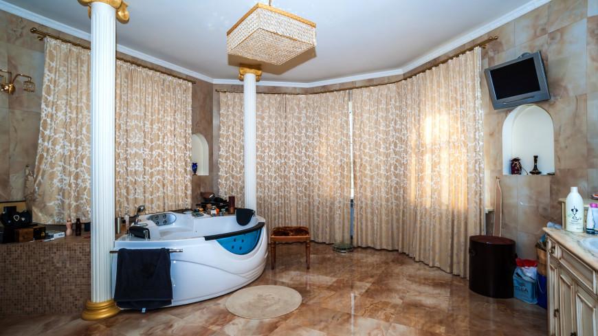 Квартира,интерьер, квартира, ванная комната, джакузи, ванна, ,интерьер, квартира, ванная комната, джакузи, ванна,