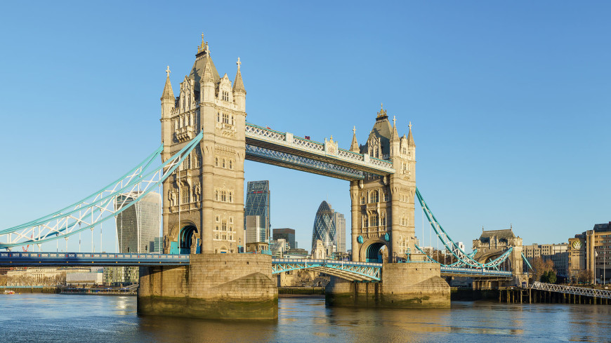 В Лондоне Тауэрский мост закрывали на час из-за хулигана