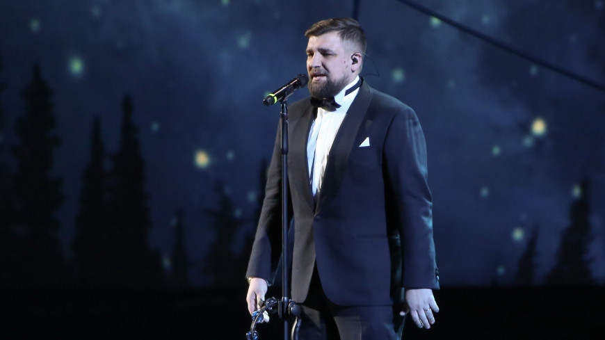 Василий Вакуленко (Вася Баста) на церемонии награждения Российской Национальной Музыкальной премии в Кремлевском дворце