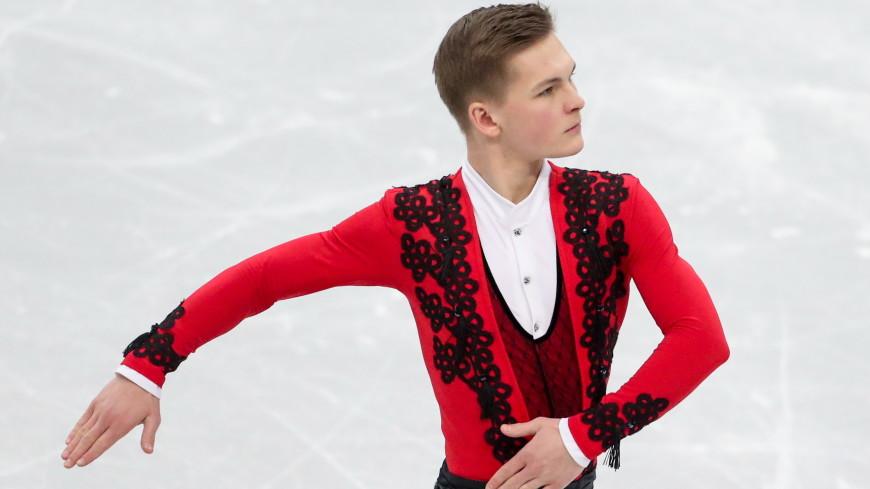 Фигурист Михаил Коляда стал победителем третьего этапа Кубка России