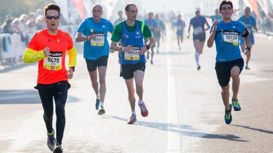 """Фото: """"Алан Кациев, «МИР 24»"""":http://mir24.tv/, бегуны, марафон"""