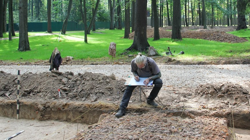 Предметы XVIII – начала XIX веков нашли археологи в усадьбе Измалково