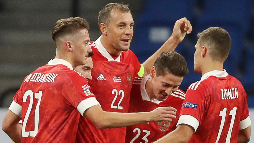 Россия с победы стартовала в Лиге наций благодаря дублю Дзюбы