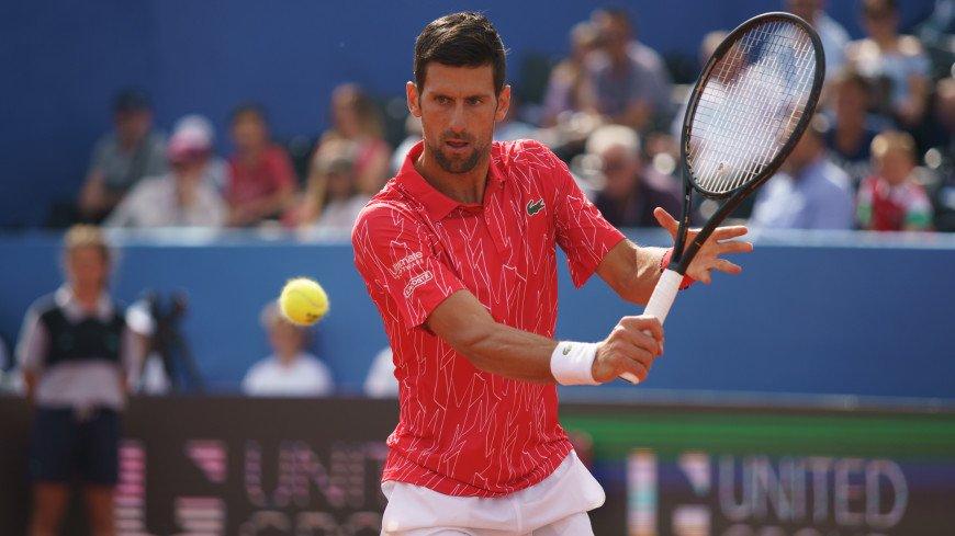 Новака Джоковича дисквалифицировали с US Open