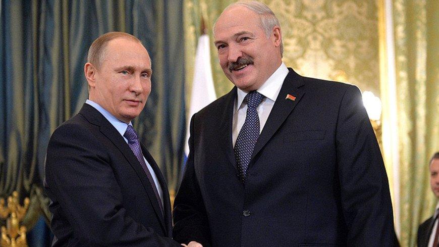 Встреча Лукашенко и Путина началась в сочинской резиденции российского президента